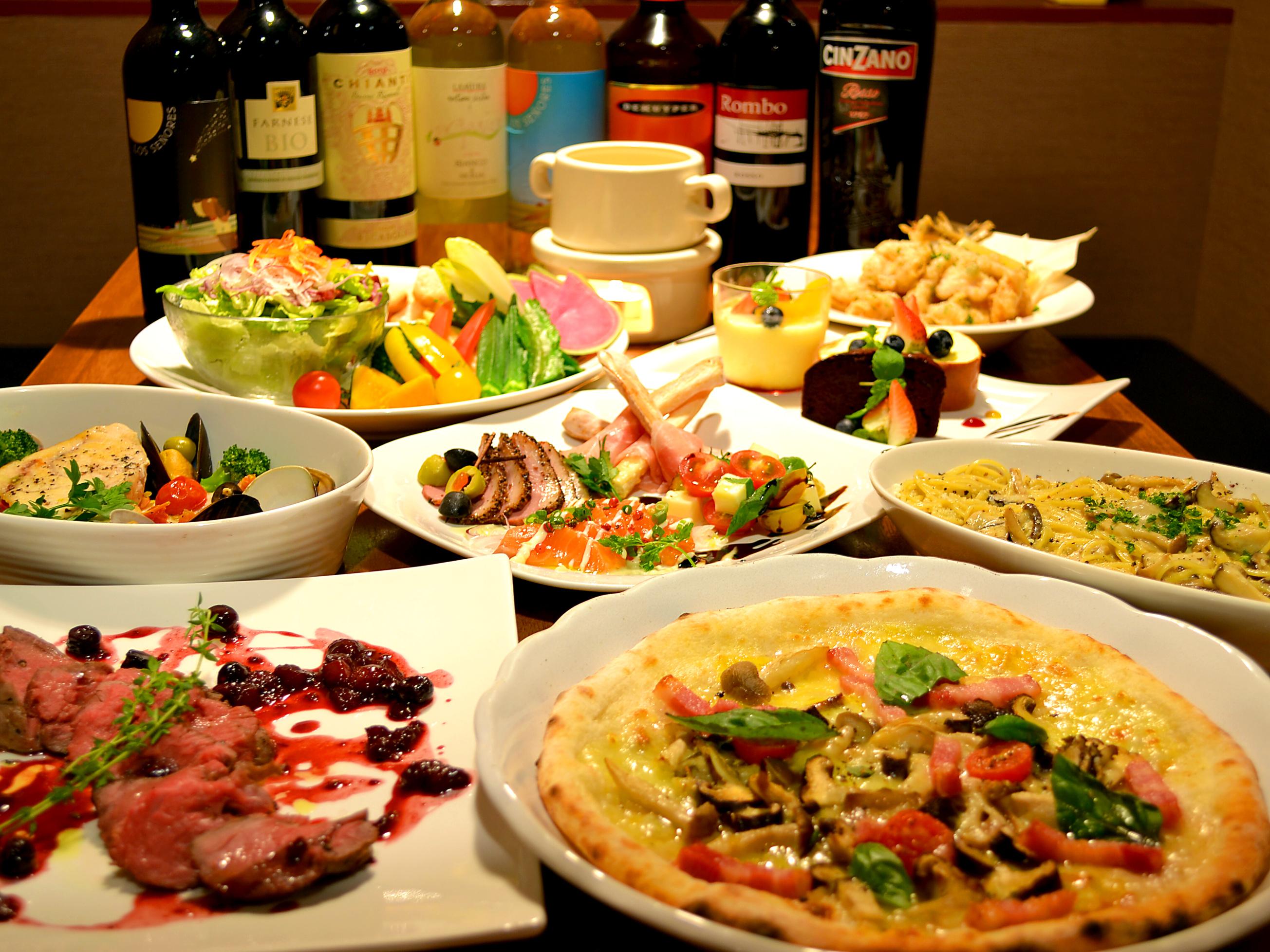 おいしい!楽しい!みんな大好き!イタリアンの食べ放題店6選♡のサムネイル画像