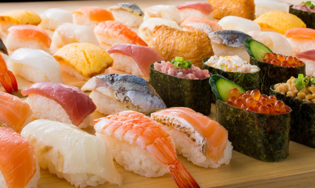 今日はお寿司をお腹一杯食べるぞー!都内の本格寿司食べ放題10店のサムネイル画像
