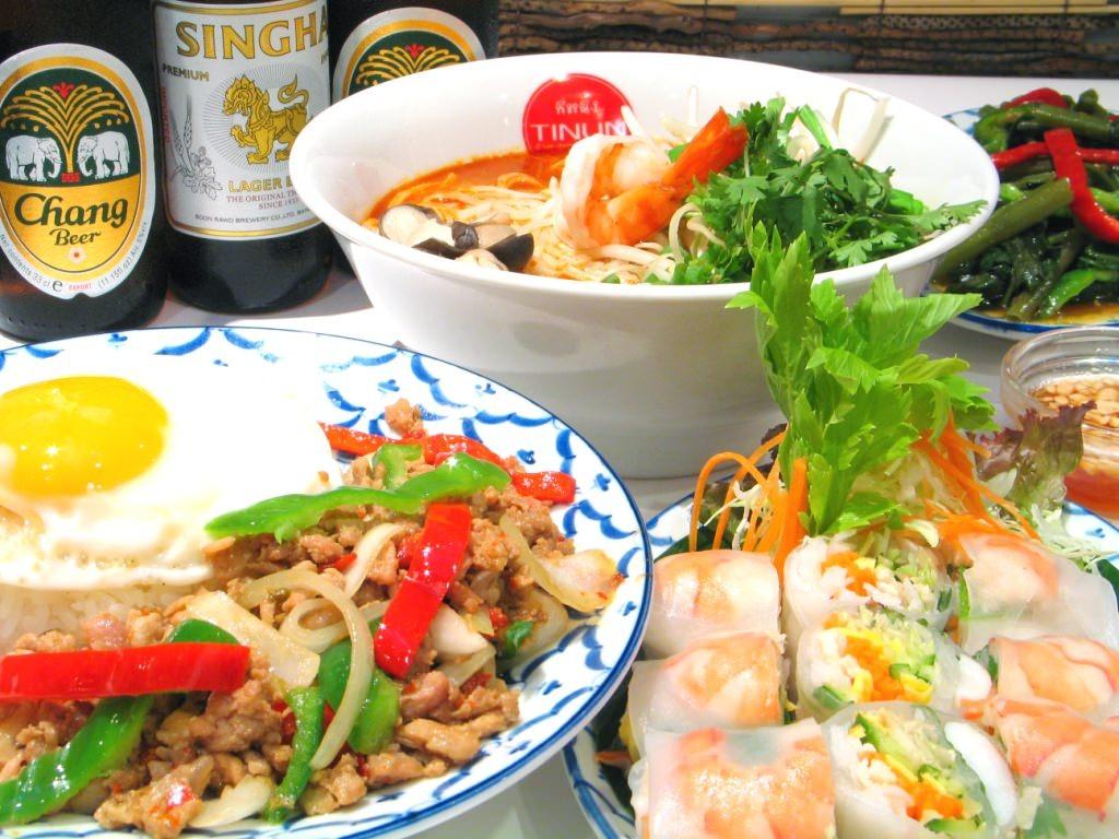 横浜で探す!ランチやディナーにおススメのタイ料理はどこ?のサムネイル画像